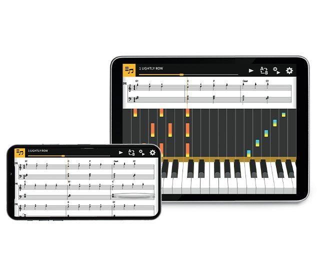 Chordana App iPad-Mobile